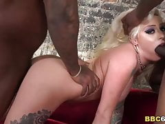 Vyxen Steel Gets Her Ass Pounded By Black Cock