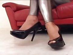 Asian in Silver Leggings, Free In Pornhub Porn 77
