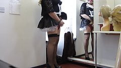 Crossdressing Maid told to sort herself out