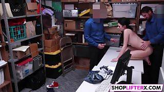 Teen Shoplifter Accepts The Deal