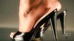 High heels mules tgp dangling