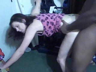 White Slut Takes Bbc And Swallows Load