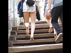 Nice Teen Pale Legs