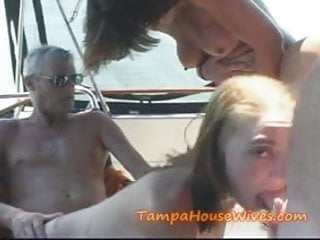 HORNY Hot Housewives go FISHING for CUM