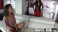 Mofos - Busted Babysitters - Diamond Foxxx and Ziggy Star -