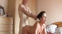 mature couple enjoying  a good sex session