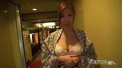 CHIHIRO AKINO Exposure in Japanese Ryokan - CARIBBEANCOM