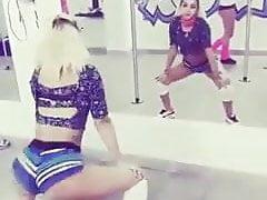 Latina teen twerking