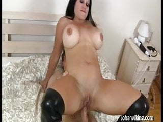Swedish pornstar Sanna Rough fucked in the ass!