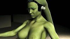 Oola (Twilek) dance for Jabba
