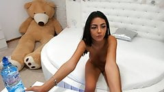Attractive European webcam girl