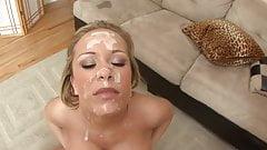 HD Blonde Babe Big Tits Bukkake