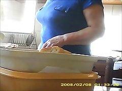 70 yo granny boobs
