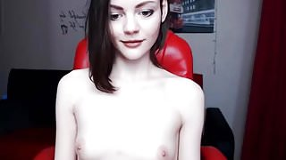 skinny romanian cam-slut