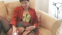 marie dildos and talks dirty