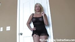 Eat your cum for your dominant neighbor girl CEI