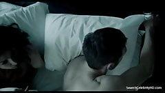Indira Varma nude - Hunted S01E03