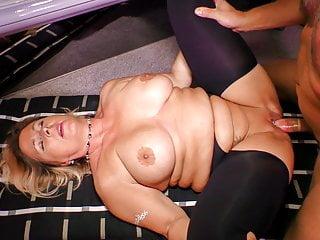 HAUSFRAU FICKEN - Large German breasted mature blonde rammed