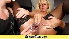 Hot euro milf Koko pov fingering and pussy close-ups