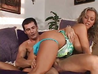 Married Blonde Beauty Gets Her Tight Pussy Licked And Fucked From Behind