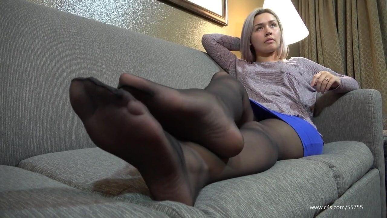 fetish Sheer pantyhose