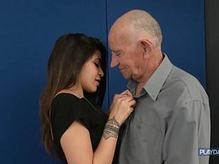 The return of grandpa's HUGE dick