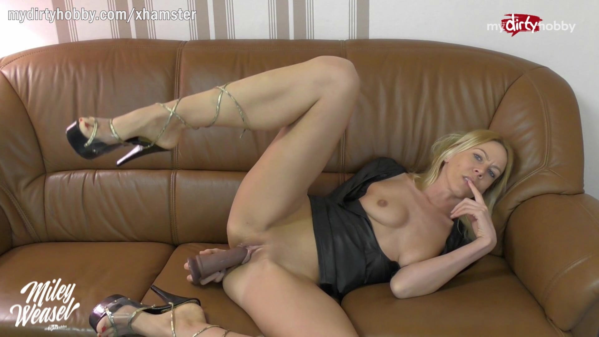 German Anal Solo