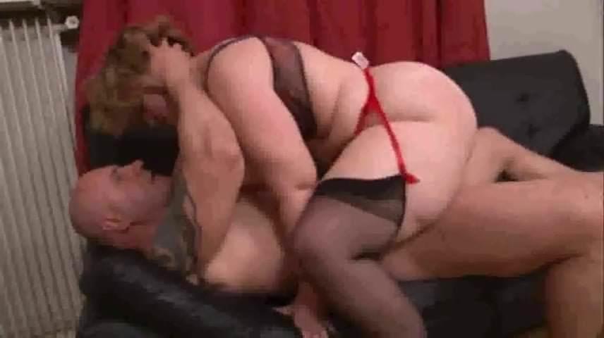 Mature in stockings fucks