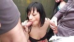 Cassandra is back for double penetration