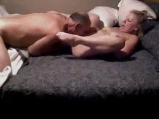 Grampa eats grandma finger in her ass