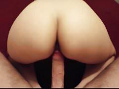 Sexy MILF cheating husband likes riding big dick