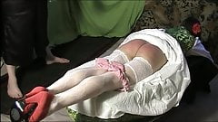 Russian traditional spanking