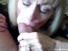 Melanie Loves The Taste Of Cock