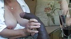 Granny cums again