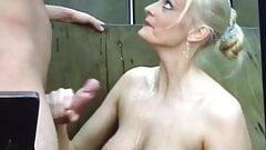 Women handjob cumshots