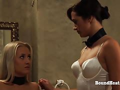 DOA2: Life And Harsh Punishments For Young Lesbian Slave