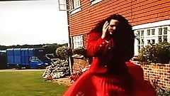 wind Blown Skirt Problems For Attractive Estate Agent 3