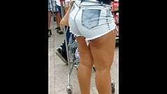 Cavala tesuda no supermercado