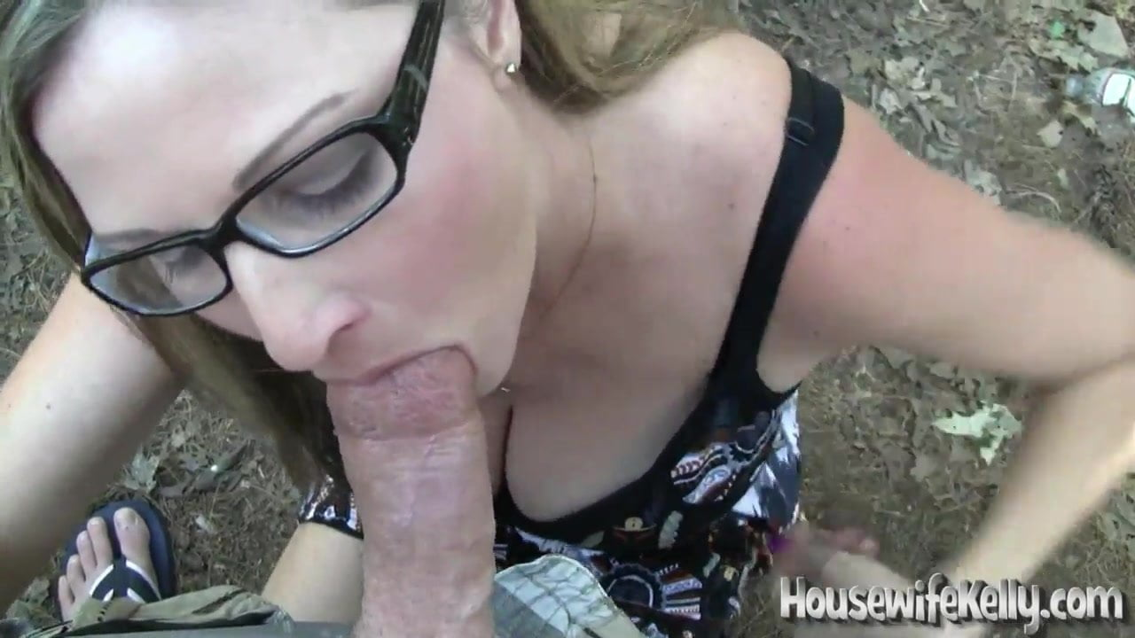 Amateur Outdoor Blowjob
