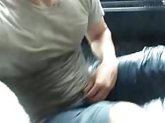 Male airport public piss and cum