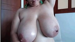 huge breasts latina