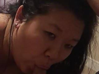 Korean MILF loved sucking my desi cock
