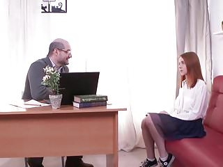 STP1 Lovely Pretty Teen Gets Fucked By Her Headmaster !