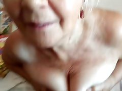 grandma and fat dick of her husband