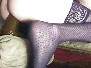 white ass slut pounded by big black toys