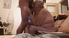 Granny is a whore....