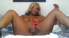 Webcam blonde black luxiurious mature masturbates