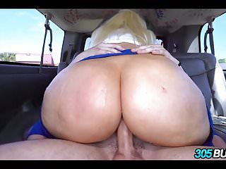 Sexy Blonde with a Huge Ass