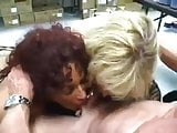 Two Milfs In Need of some Cock and Cum