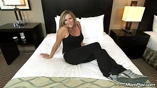 Beautiful Big Tits Cougar Fucks Your Cock POV
